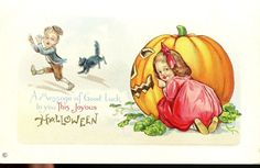 Halloween A Message of Good Luck to You This Halloween | eBay