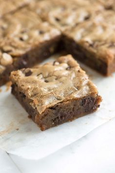 Easy Blondies from Scratch