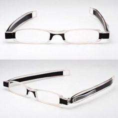 8d437c0509b 360 Degree Rotation Folding Reading Glasses Diopter Men Women Foldable  Presbyopic Reading Glasses 1.0 1.5 2.0