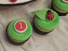Ladybug Cupcakes :)