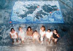 Mural Islas Malvinas. Taller de Mosaico Villa Gesell