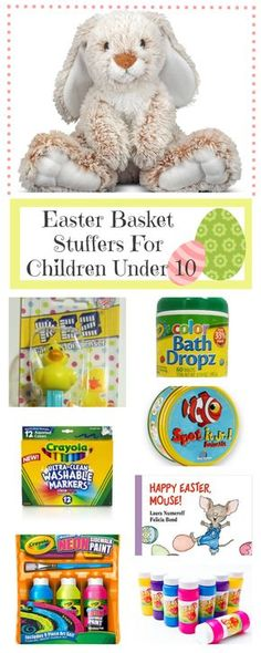 Creative unique easter basket ideas for kids crafty morning easter basket stuffers ideas for kids under 10 negle Image collections