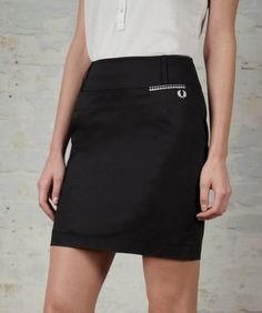 Fred Perry - High Waisted Pencil Skirt