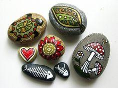 Painted Rocks by rlrule