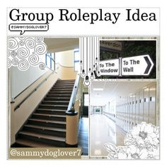 """""""&& Group Roleplay Idea"""" by sammydoglover7 ❤ liked on Polyvore featuring art and sammysroleplay"""