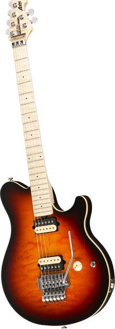 Music Man Axis Electric Guitar Vintage Sunburst Maple Fretboard