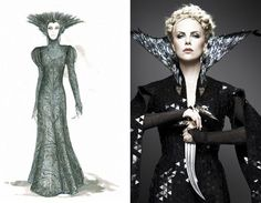 Queen Ravenna by Costume Designer Colleen Atwood, Snow White and the Huntsman these sketches were originally posted here. Description from pinterest.com. I searched for this on bing.com/images