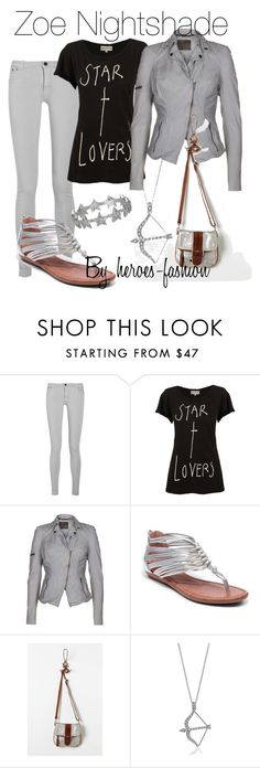 """""""Zoe Nightshade: Hunter of Artemis"""" by heroes-fashion ❤ liked on Polyvore featuring dVb Victoria Beckham, Wildfox, MuuBaa, Lucky Brand, Tano, BERRICLE and Zoe & Morgan"""