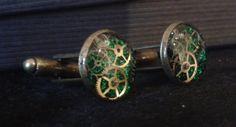 Green Cufflinks for Rosanna