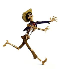 Images of Héctor from the Pixar film Coco.