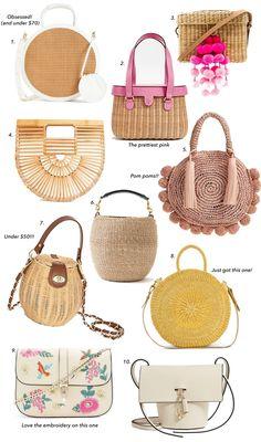 Bags - Twenty Bags for Spring – Bags Stylish Handbags, Handbags On Sale, Purses And Handbags, Spring Bags, Summer Bags, Wholesale Purses, Summer Purses, Luxury Purses, Cheap Purses