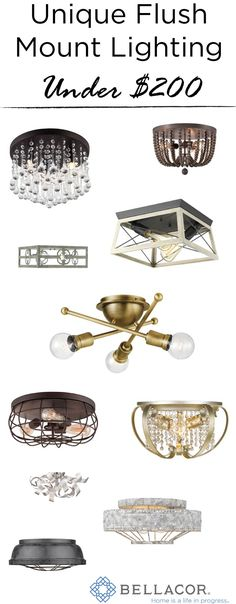 Shop Bellacor for flush and semi flush mount ceiling lighting. Available a variety of finishes, find the lighting style to complete your home's aesthetic. Semi Flush Lighting, Ceiling Lighting, Flush Mount Ceiling, Fashion Lighting, Lighting Solutions, Stylish, Room, Drop Ceiling Lighting, Overhead Lighting
