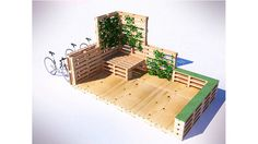 """""""Parklet's"""" are a small urban space which can be considered parks. Usually located in regular vehicle parking spots in strategically placed high pedestrian zones. Their intention is to reclaim green and public spaces for the citizens of cities."""