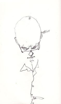 daily metro sketches / male 1 on Behance Daily Drawing, Life Drawing, Drawing Sketches, Art Drawings, Sketching, Human Sketch, Pen Sketch, Scribble Art, Sketches Of People