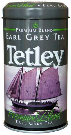Tetley Earl Grey Tea. Classic English tea! I've tried many Earl Grey's and nothing beats Tetley.