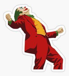 'Joker Sticker by adrilordi Bubble Stickers, Cool Stickers, Funny Stickers, Printable Stickers, Laptop Stickers, Homemade Stickers, Joker, New Sticker, Aesthetic Stickers