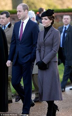 Kate Middleton et le prince William, duc de Cambridge