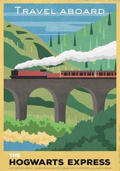 Carly Watts Art & Illustration: The Hogwarts Express