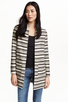 Jacquard-weave coat | H&M