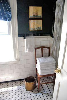 baño. silla