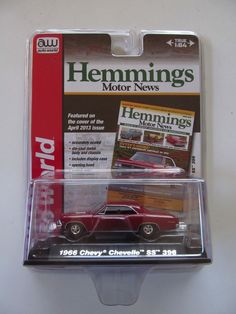 Mister Blister(card): My checkered history in the world of diecast-car packaging