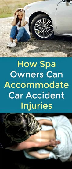 How Spa Owners Can Accommodate Car Accident Injuries - Recovering from an accident injury isn't always easy. Along with traditional physical rehabilitation, there are other common practices you can supplement into a treatment plan to promote healing. Spas offer a variety of services, such as massage therapy and heat and cold therapy, that can help you on your way to healing from an injury.  #accident   #caraccident  #injury    #massagetherapy   #coldtherapy    #heattherapy   #injuryrecovery  #he
