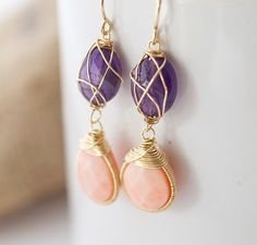 Amethyst And Coral