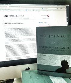 """4 Luglio 2014: Il terzo volume della tetralogia di Uwe Johnson """"I giorni e gli anni"""" (http://www.lormaeditore.it/libro/9788898038312) recensito oggi magistralmente su «Doppiozero» da Guglielmo Gabbiadini. Il link all'articolo: http://www.doppiozero.com/materiali/oltreconfine/uwe-johnson-i-giorni-e-gli-anni (http://www.lormaeditore.it/libro/9788898038398)"""