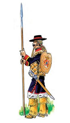 Conquistador, Cartoon Knight, Alta California, Armor Clothing, Bad Santa, San Juan Capistrano, 18th Century, North America, Spanish