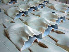 """Radical Craft's CNC molded """"Tectonic Horizons."""" (Radical Craft)"""