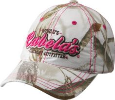 1a5185a6187 Cabela s Women s Foremost Outfitter Camo Cap at Cabela s. this hat works  with a bright pink bikini