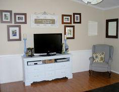 {Craftify It}: My Dresser TV Stand