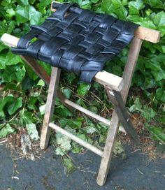 Rethink Crafts: Bike Inner tube and Tires- May Repurposing Challenge