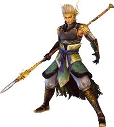 from 1997 game looks like warrior for God Dynasty Warriors 4, Liu Bei, Sword Of The Spirit, Guan Yu, The Warlord, Warrior 3, Action Movies, Kung Fu, Cool Artwork