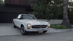 Petrolicious shows Mercedes 280SL as architecture in motion