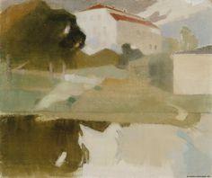 Sjundbyn kartano, 1927 | Helene Schjerfbeck | Kansallisgalleria | Kuva Hannu Aaltonen