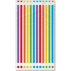 Rainbow Birthday Table Cover