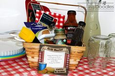 BBQ Gift Basket  ~  Father's Day