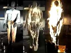 Nomex Coverall test in Fire - YouTube