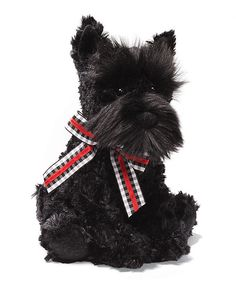 Scotty Black Scottie Dog Plush Toy | Daily deals for moms, babies and kids