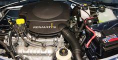 Модель восмиклапанного двигателя 2004 года K7M 710 объемом 1.6 л. и мощностью 87 л.с. при 5100 об/мин от компании Рено - это модернизированный 1.4-литровый K7J. Главным отличием