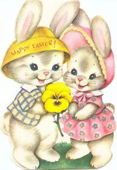 Vintage Easter Card by Zero Discipline, via Flickr