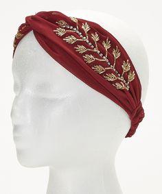 Burgandy Twig Headband | zulily