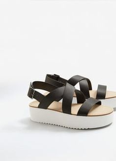 Platform strap sandals | vegan shoes | vegan platforms
