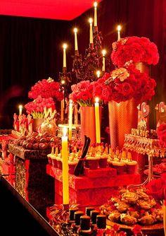 Moulin Rouge Tablescape