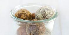 These Protein Power Balls are the perfect energizing on-the-go snack (or dessert!).