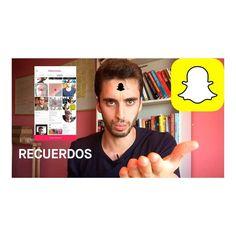 Snapchat ha lanzado su nueva función Recuerdos. Como buen defensor de la plataforma he creado un vídeo tutorial de como utilizarlos y sus aplicaciones en el mundo empresarial y del Marketing. Tenéis el link del vídeo en mi descripción. __ #snapchat #snapchatrecuerdos #snapchatmemories