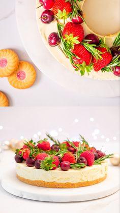 Winter Desserts, Thanksgiving Desserts, Christmas Desserts, Christmas Baking, My Recipes, Sweet Recipes, Cookie Recipes, Dessert Recipes, Christmas Cheesecake