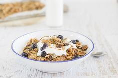 Granola is commonly thought of as a healthy and safe breakfast option, however most store-bought versions contain the equivalent sugar levels of a chocolate cake for dessert! You can create your own version at home.  It will taste better, have a lot less sugar, offer you more health benefits, takes no time at all, and makes you