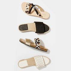 Getaway chic: prints and texture slide your summer sandals into focus #seedheritage